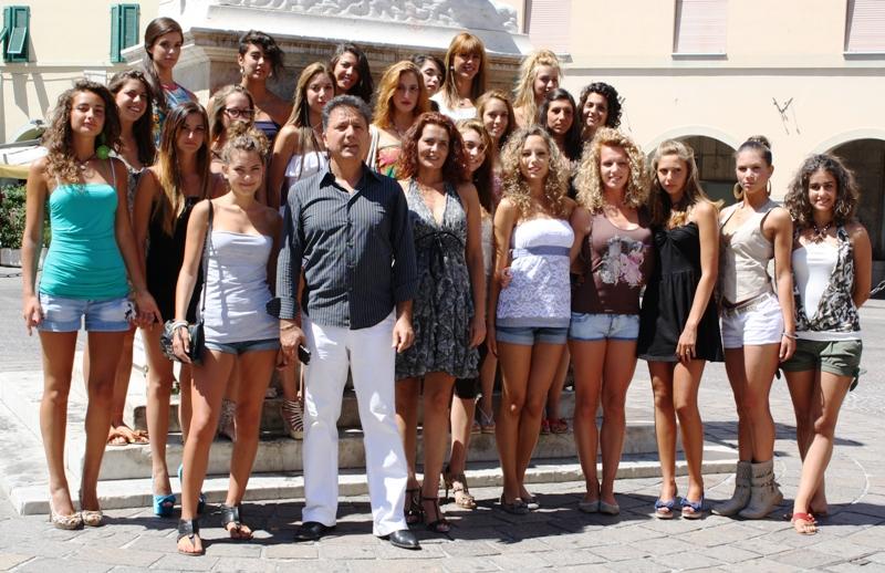 Presentate le 30 finaliste di Miss Maremma 2012