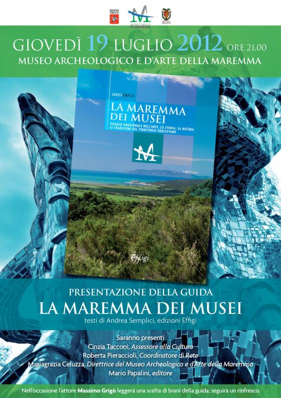 """Arriva la guida """"La Maremma dei musei"""""""