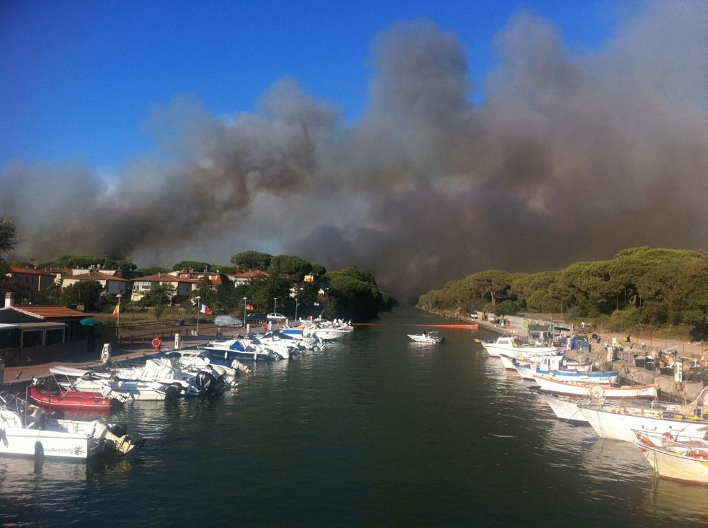 Incendi in Maremma: interviene Festambiente
