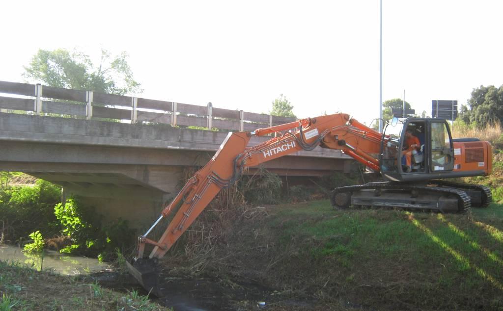 Terminate le operazioni di risanamento del fosso Salica