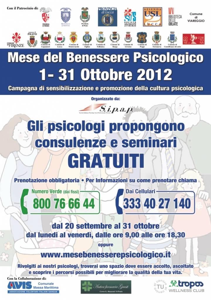 Ottobre a Grosseto è il mese del benessere psicologico