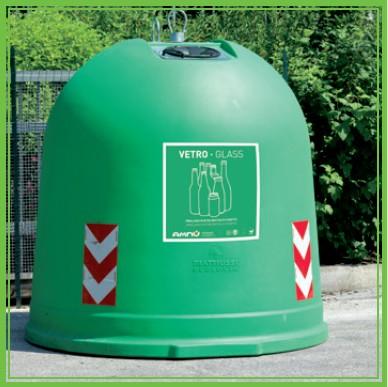 Il Comune di Castiglione acquista venti campane per la raccolta del vetro. Gli abitanti decideranno il loro posizionamento
