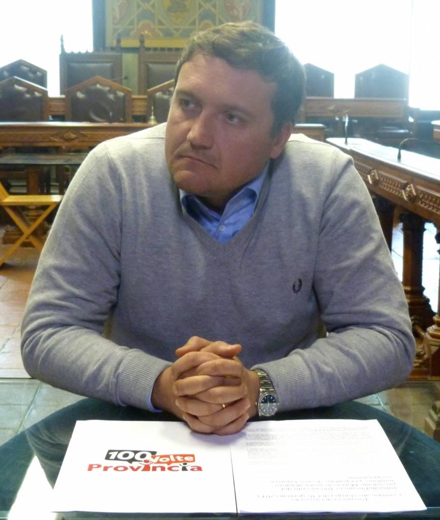 """Al via """"100volteProvincia"""": il presidente Marras in visita all'intero territorio per parlare di crisi, lavoro e cooperazione"""