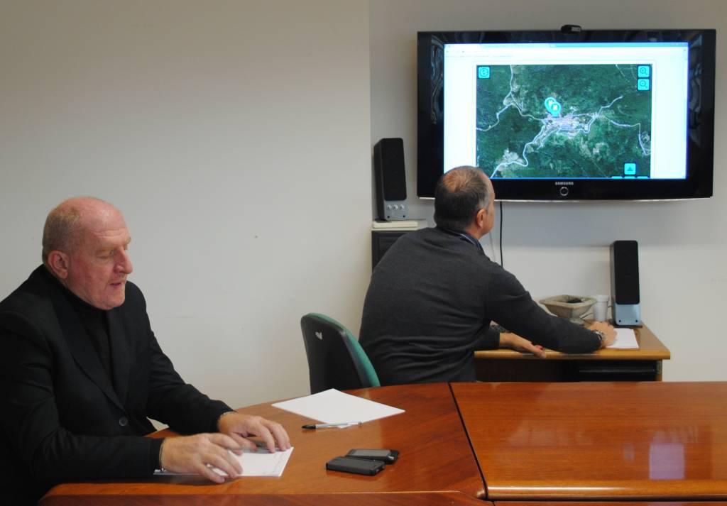 """Castiglione: le informazioni turistiche diventano """"""""touch screen"""" grazie agli schermi interattivi del Comune"""