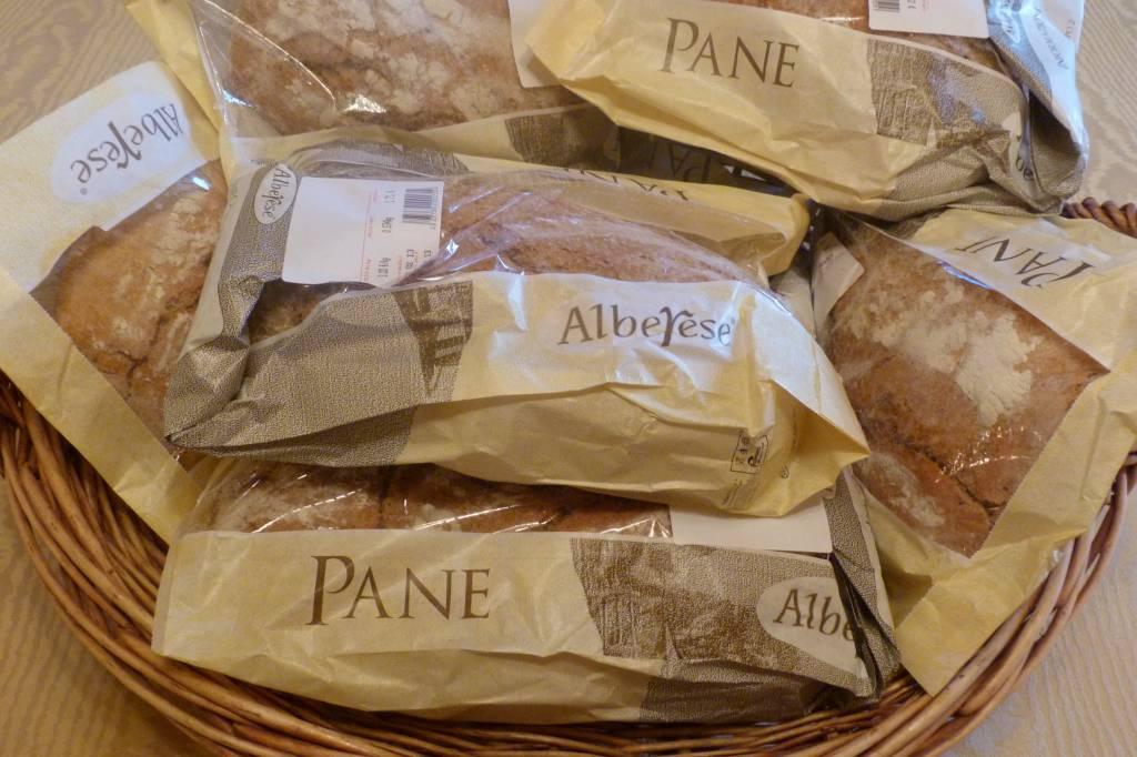 Il pane di Alberese in vendita alla Coop