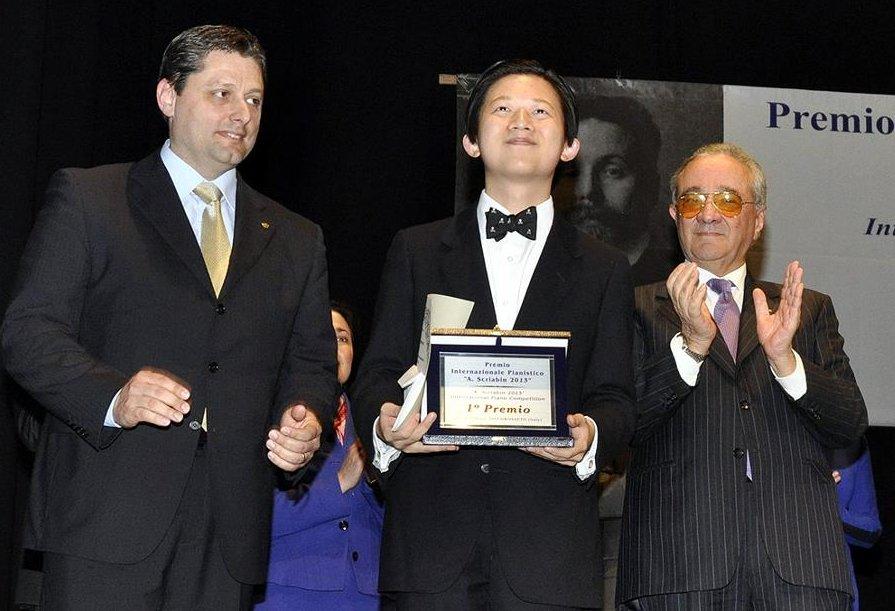 Il Premio pianistico internazionale Scriabin al concertista cinese Guang Chen