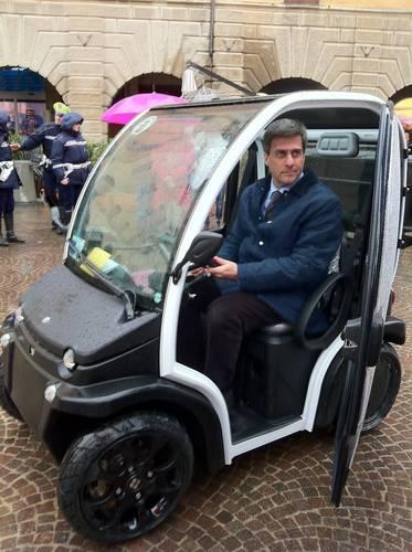 Nuovi mezzi elettrici in dotazione al Comune di Grosseto