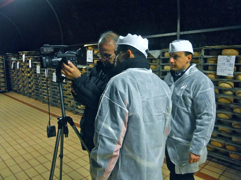 Photo of Roccastrada: i formaggi del caseificio Spadi Enzo sugli schermi della Bbc