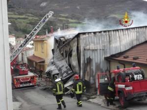 incendio caseificio
