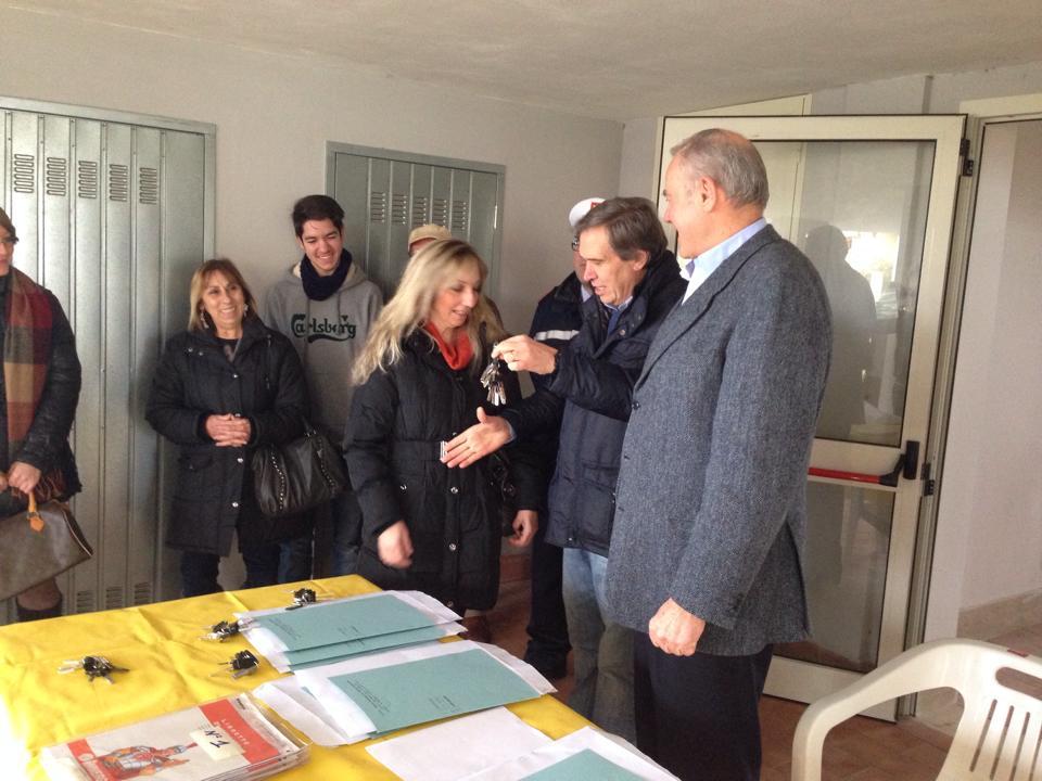 Inaugurati a Pitigliano gli alloggi popolari di via Brodolini