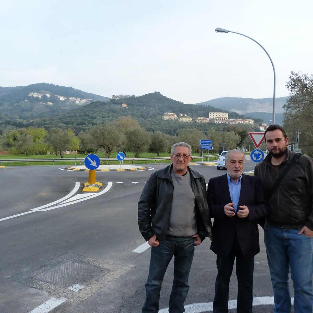 Bagno di gavorrano terminata la realizzazione della rotatoria sostituito l 39 incrocio a t - Bagno di gavorrano ...