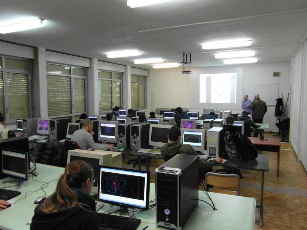 Tre alunni del Geometri di Grosseto alle finali nazionali di Cad, il disegno realizzato con il computer
