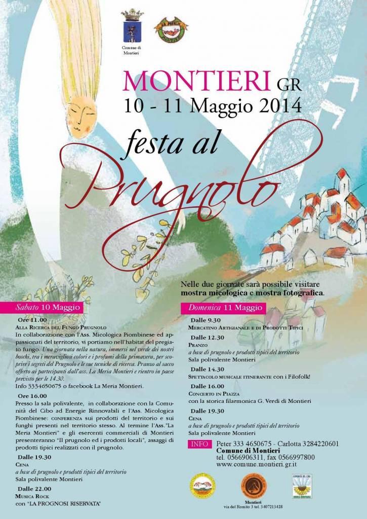 """Montieri celebra nel weekend la """"Festa al prugnolo"""" con passeggiate, dibattiti e degustazioni"""