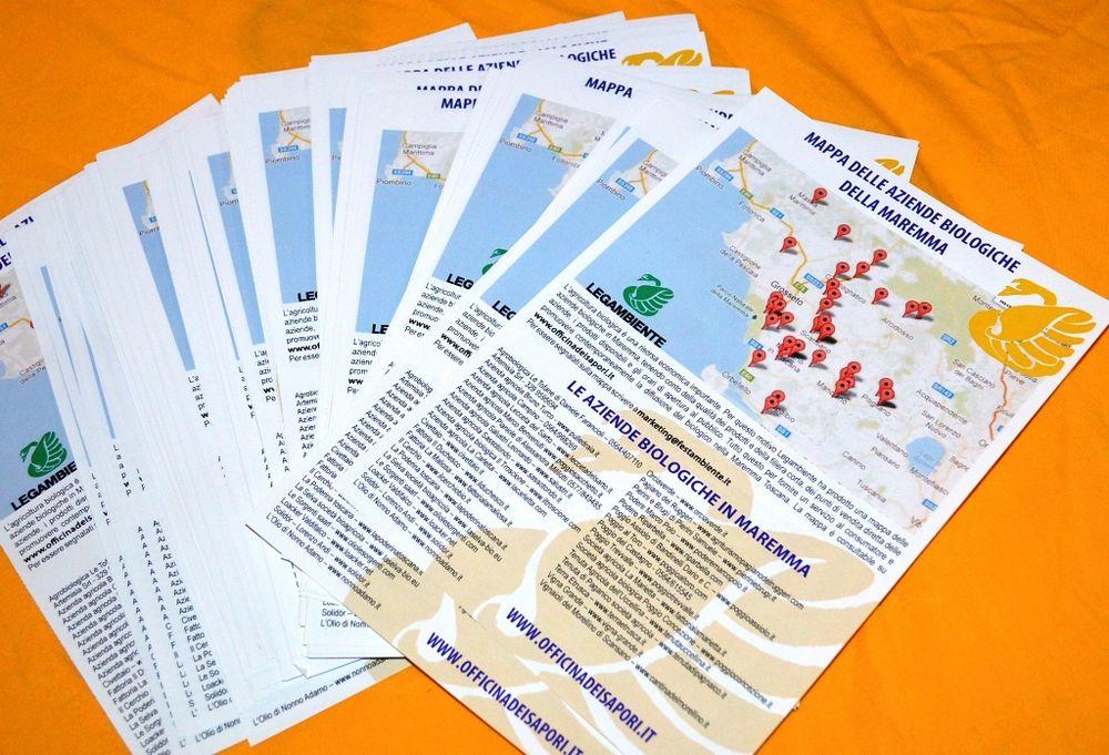 Presentata la Mappa delle aziende bio in Maremma. 700 gli operatori aderenti