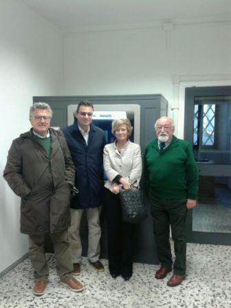 Inaugurato un bancomat a San Martino sul Fiora
