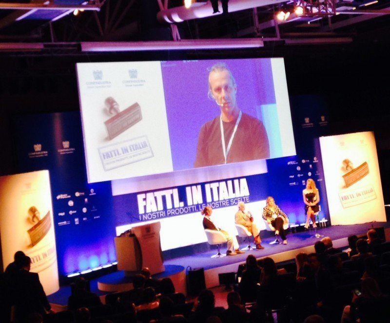 Roberto Ricci relatore al convegno nazionale dei Giovani imprenditori