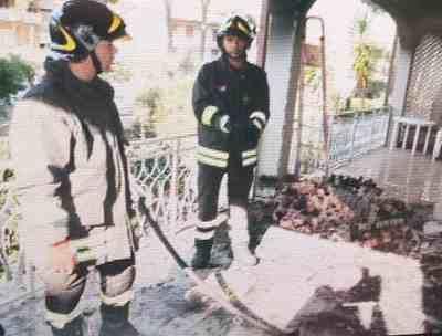 Marina di Grosseto: incendio in una villetta