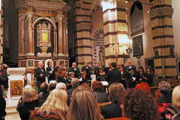 Scansano: l'ensemble Palestrina in concerto per celebrare la Festa dell'Immacolata