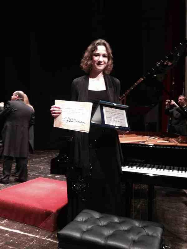 cera Starved brivido  Il Premio Scriabin parla russo: Galina Chistiakova fa l'en plein