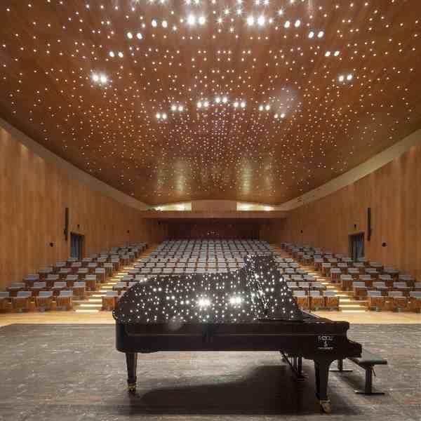 Amiata Piano Festival: ecco il programma dell'edizione 2015. Nuova sala da concerto tra i vigneti