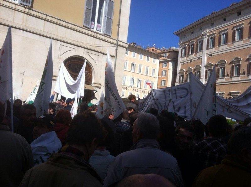 Più di mille agricoltori alla manifestazione Agrinsieme a Roma