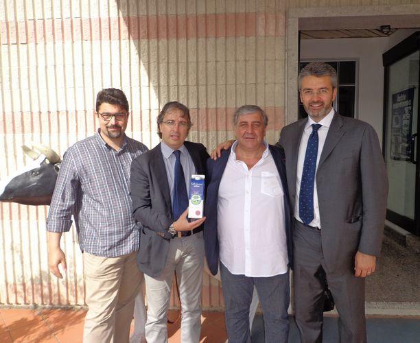 Il presidente regionale di Coldiretti Marcelli visita Latte Maremma