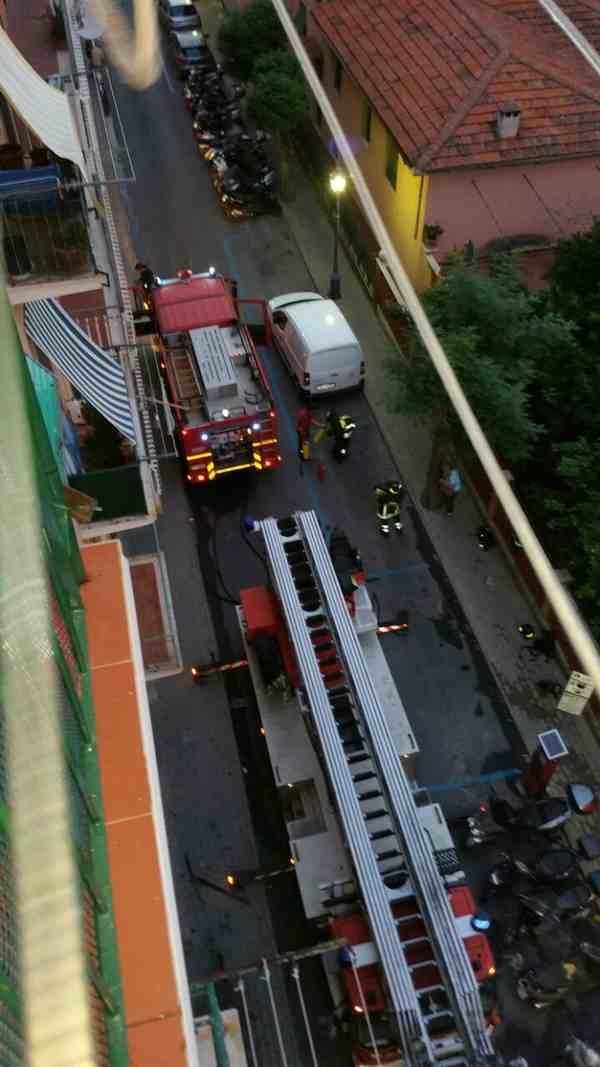 Porto Santo Stefano: incendio in una casa