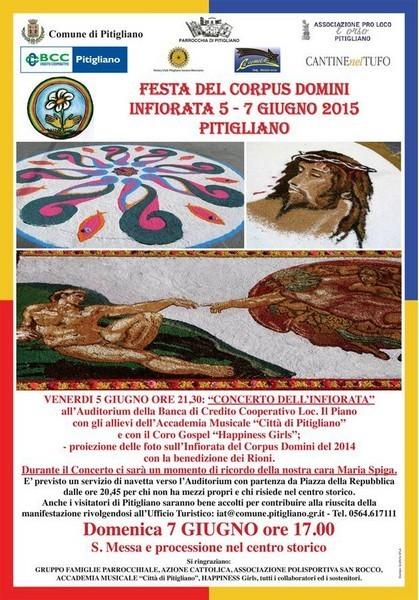 Photo of Festa del Corpus Domini il 5 e 7 giugno a Pitigliano