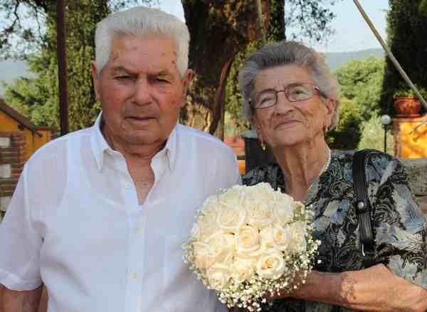 Photo of Civitella: zio Dante e zia Norma festeggiano 60 anni di matrimonio