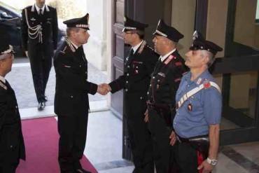 Grosseto: il Vice Comandante Generale dei Carabinieri in visita al Comando provinciale