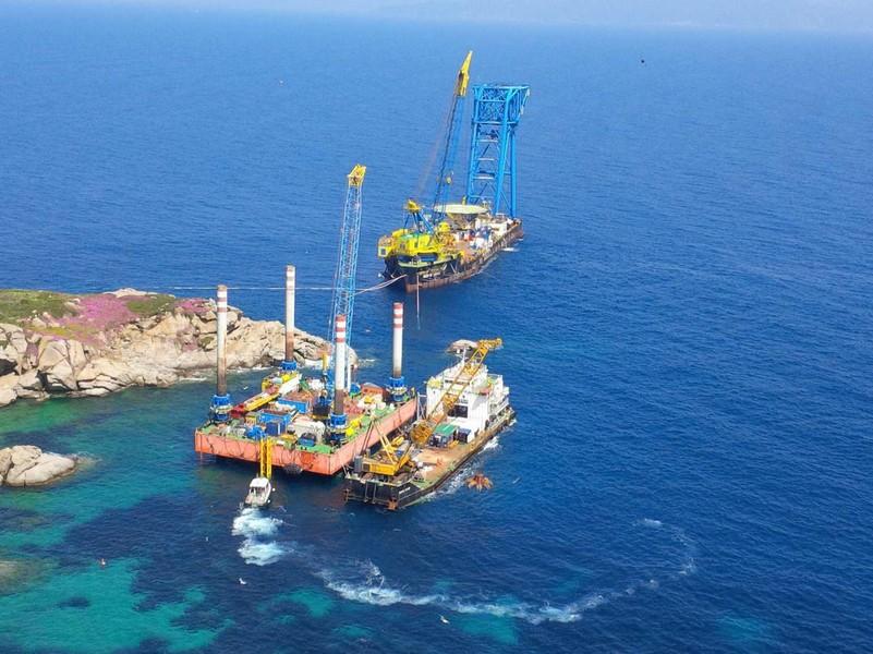 Photo of Isola del Giglio, proseguono le operazioni di bonifica dei fondali
