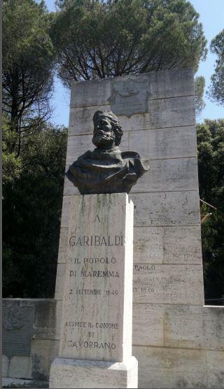 """Cala Martina celebra il """"salvamento"""" di Garibaldi nel mare di Scarlino"""
