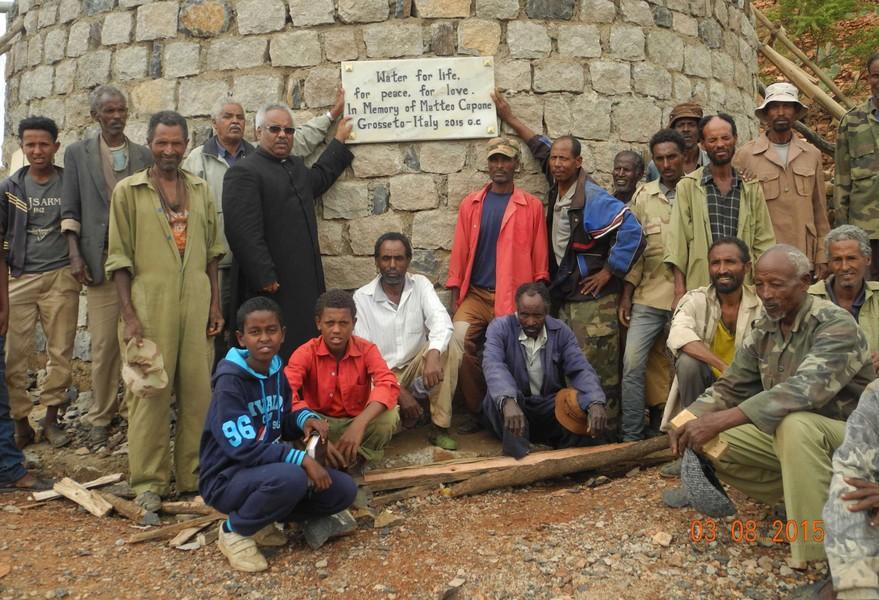 Photo of In Eritrea terminato un pozzo in ricordo di Matteo Capone