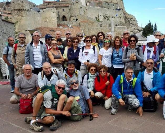 Trekking sul lago di Bolsena: escursione in trasferta per il Gat