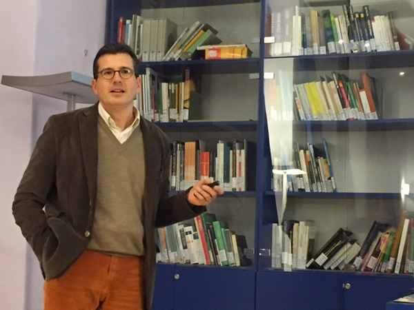 Photo of Il direttore del Museo di Storia Naturale a Bruxelles per il workshop della Dg Environment