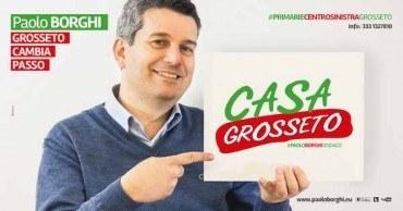 """Verso le amministrative, Borghi apre Casa Grosseto: """"Discuterò del programma insieme alla gente"""""""