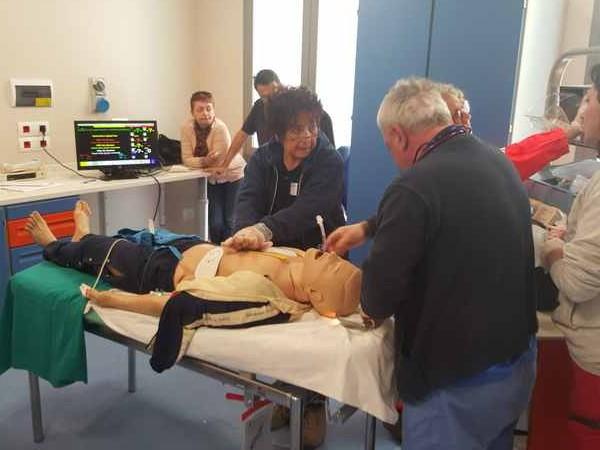 Follonica: simulazioni e addestramento del personale per il nuovo punto di primo soccorso