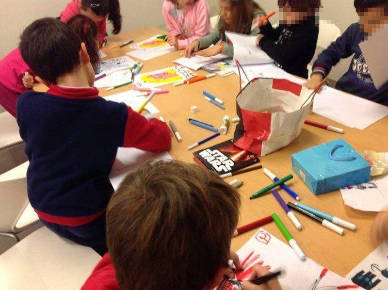 """""""Io e la biblioteca"""": i bambini alla scoperta dell'autunno con la scatola sensoriale"""