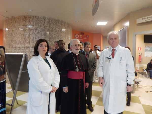 Ospedale Misericordia: la cappella sarà Porta Santa per il Giubileo della Misericordia