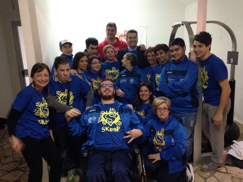 Inaugurata a Grosseto la prima palestra in Italia per disabili