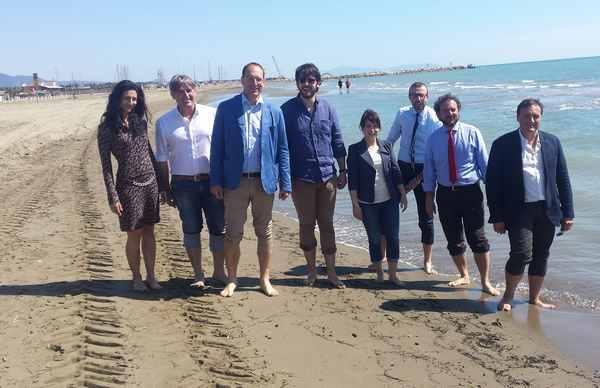 """I consiglieri regionali del Pd in visita a Marina: """"Territorio con molte partite aperte da vincere"""""""