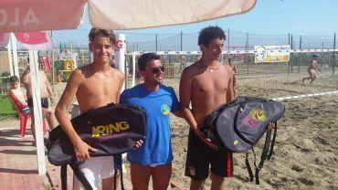 Beach tennis, D'Orso-Ferraro conquistano il Bagno Lido