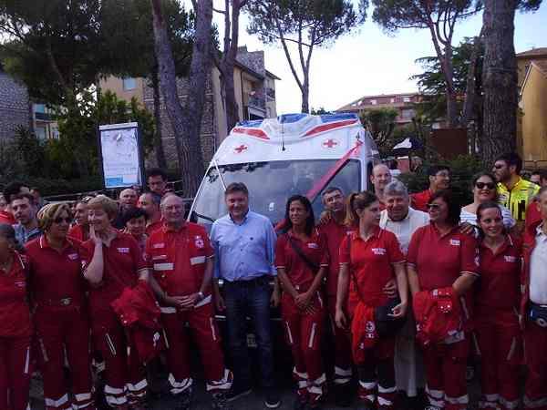 Photo of Giro d'Italia ad Orbetello: la Croce Rossa allestirà un punto di assistenza