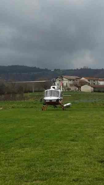 Al via i controlli di Enel: ispezionate le linee elettriche con l'elicottero