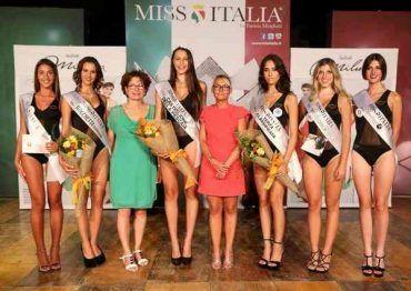 Benedetta Cartei è Miss Castiglione della Pescaia. Tutte le ragazze premiate