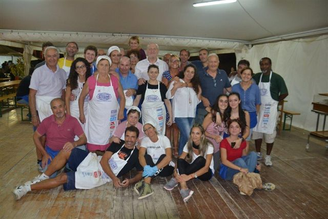 In 700 alla cena di beneficenza per i terremotati