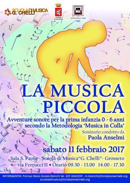 """""""La musica piccola"""": ecco il seminario sull'importanza della musica per i bambini"""