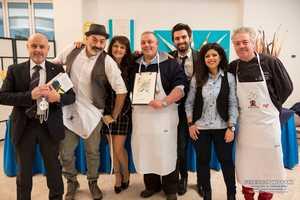 """Vivarelli Colonna ospite a """"Qb"""": cucinerà una scaloppa di foie gras con lo chef Moreno Cardone"""