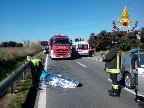 Scontro tra auto e scooter: incidente mortale sull'Aurelia
