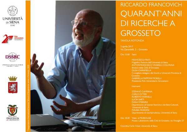 Photo of Grosseto ricorda l'archeologo Riccardo Francovich a dieci anni dalla scomparsa